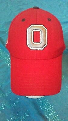 online retailer 05179 bc6e8 Ohio State Cap Buckeyes W adjustable Strap- By Top Of The World-Red