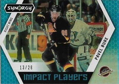 2017-18 Upper Deck Synergy Impact Players Blue Parallel #Ip-11 Pavel Bure 13/26