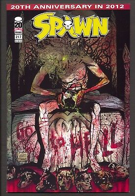 Spawn #217 (2012) ~ Gory Freak cover ~ Todd McFarlane/Michael Golden cover ~ NM-