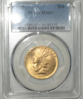1932 $10 gold Indian Eagle. PCGS MS62+