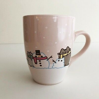 Pusheen the Cat Winter 2017 Subscription Box 18 ounce Ceramic Mug NEW EXCLUSIVE