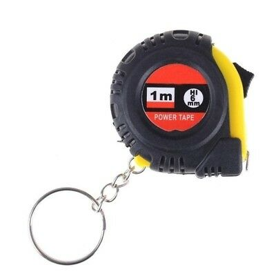 Retractable Ruler Tape Measure Sewing Cloth Dieting Tailor 100cm/39inch keychain