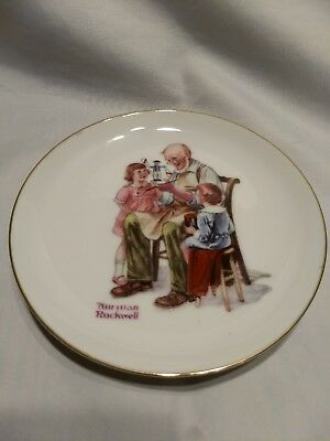 """Limited Edition Norman Rockwell """"The Toymaker"""""""