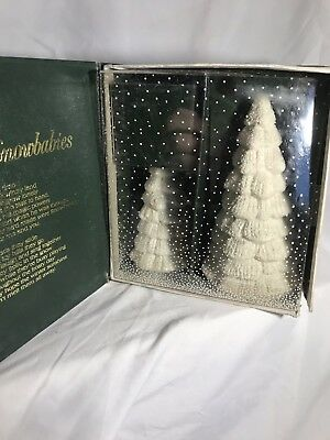 Dept 56 Snowbabies Winter Tales FROSTY FOREST Set of 2 Trees