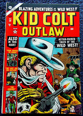 KId Colt Outlaw #28  Timely! 1953! Nice!