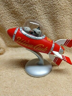 Schultz and Dooley Stein Utica Club Stein rocket ship  toy collectable
