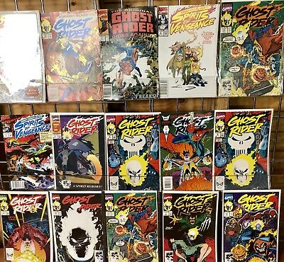 Ghost Rider Comic Lot Featuring 15 Comic Books