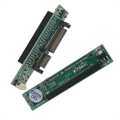 """IDE To SATA HDD Drive 44pin SATA Adapter Converter For 2.5/""""inch Laptop SSD B3W1"""