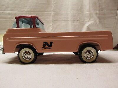 Vintage Nylint, Pink, Ford, Pressed Steel Toy Truck