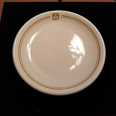 "Disney Logo Shenango China Ceramic 9.5"" Dinner Plate Hotel Restaurant"