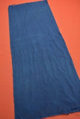 QD30/45 Vintage Japanese Fabric Cotton Antique Boro Patch Indigo Blue 35""