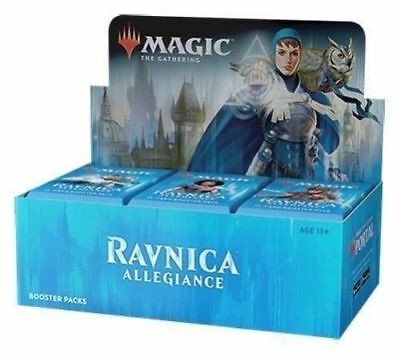 Ravnica ALLEGIANCE Booster Box of 30x Booster Packs Partial Box Sealed MTG