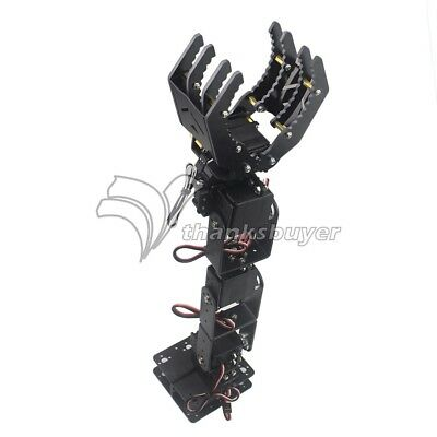6DOF Robot Mechanical Arm Hand Clamp Claw Manipulator With Servo for Arduino DIY