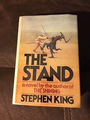 SIGNED, Stephen King The Stand. F/F First Edition 1978 Hardcover T39 $12.95