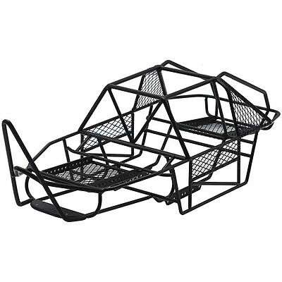 steel frame body roll cage chassis black for 1 10 axial scx10 rc Jeep TJ Roll Cage new steel frame body roll cage chassis for 1 10 rc axial scx10 crawler car