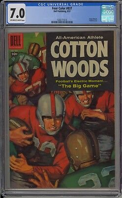 Four Color #837 - Cotton Woods - CGC 7.0 - 1266171014