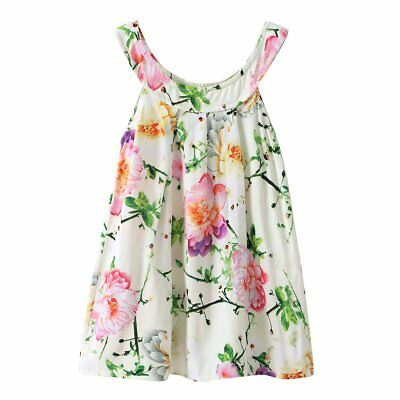 Cute Girls Princess Dress Kids Baby Party Wedding Pageant Sleeveless Dresses