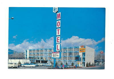 Vintage City Center Motel, Carson City Nevada Postcard