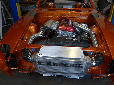 CXRACING TOP MOUNT GT35 Turbo Kit for Datsun 510 with