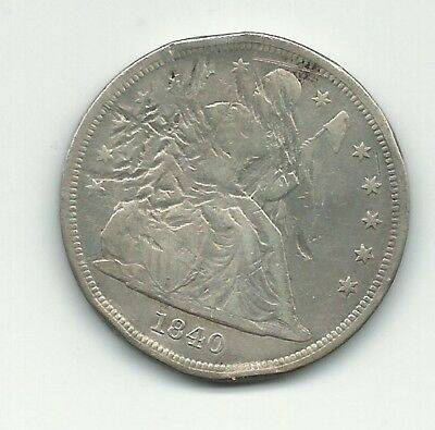 1840 $1 US Seated Liberty Dollar-First Year Minted!