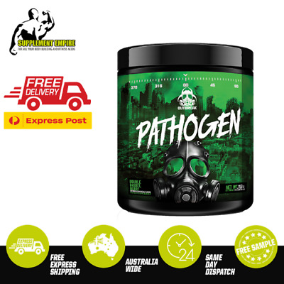 Outbreak Nutrition Pathogen Pre Workout Energy Fitness PreWorkout 28 Serves
