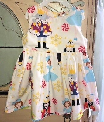 abb58fb6d807 BONNIE BABY NUTCRACKER Dress Size 12, 24 Months Brand New Red ...
