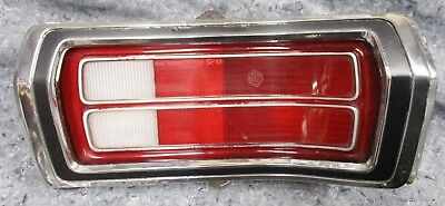 DUSTER TAILLIGHT RH 73 74 75 76 NICE! mopar grille BEZEL PLYMOUTH grill SCAMP