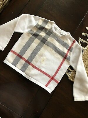 Burberry Baby Sweater 18m