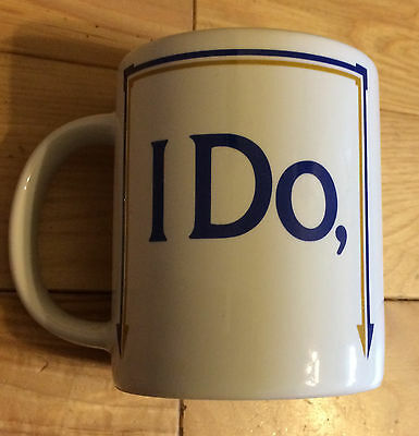 I Do- (Do You? is on the Bottom of the Mug) Anonymously Yours Brand Name  NEW