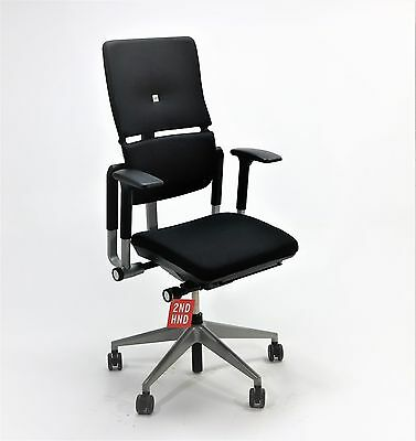 Steelcase Please V2 new fabric Black