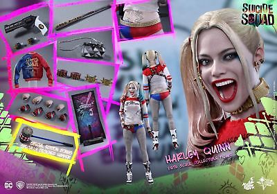 (US) 1/6 Hot Toys MMS383 Dc Suicide Squad Harley Quinn Special Edition Sideshow