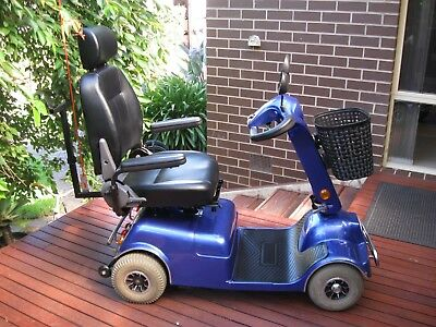 Mobility Scooter - Aussie Scooters J50FL - Blue