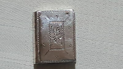 Sterling silver vintage George III antique patch box – Cocks & Betteridge