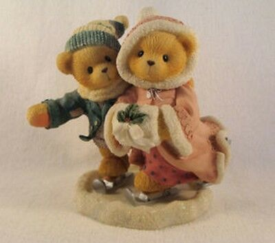 Cherished Teddies  ~  KEITH & DEBORAH ... Skating  *  NEW From Our Retail Shop