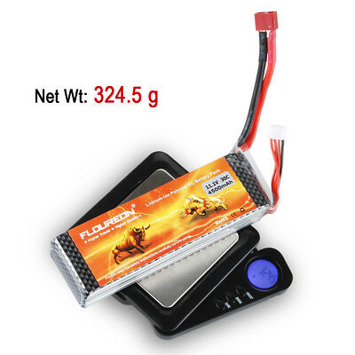 New 3S 11.1V 4500mAh 30C LiPo Battery T Plug For RC Evader BX Car Airplane Truck