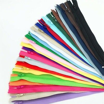 Lots Colors Resin Nylon Zipper For Sweater Jacket Handbags DIY Tailor Sew Craft~