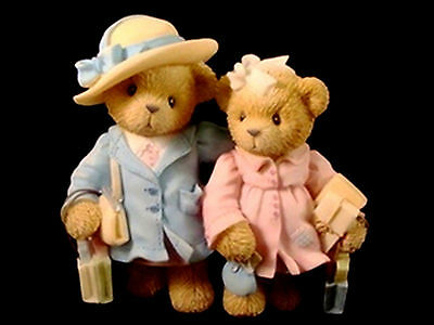 Cherished Teddies  ~ PATTY & PEGGY ... Mom & Daughter * NEW From Our Retail Shop