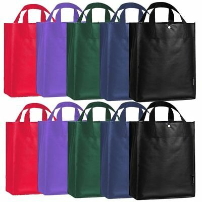 Foldable Reusable Grocery Bag Shopping Non Woven Eco Friendly Tote Storage Clean