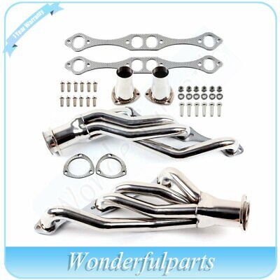 A//F//G BODY SBC STAINLESS STEEL CLIPSTER HEADER EXHAUST FOR 64-88 SMALL BLOCK V8
