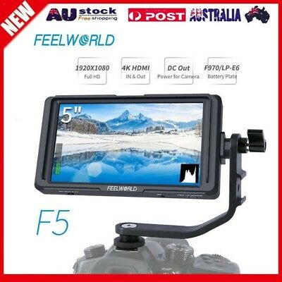FEELWORLD F5 5 inch DSLR On Camera Field Monitor Small Full HD 1920x1080 Video A