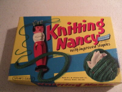 Vintage Knitting Nancy wool weaver by Spears