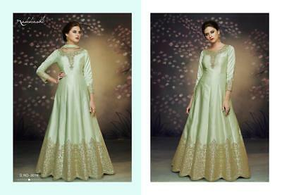 Designer anarkali salwar kameez suit ethnic Bollywood pakistani gown,1mn