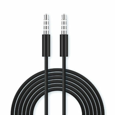 3,5mm Aux Kabel Stereo Klinken Audio Klinke Stecker für iPhone MP3 Auto Handy 1M