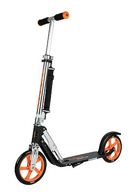 Hudora Scooter / Roller Big Wheel 205 RX PRO limited edition 2019 schwarz / oran