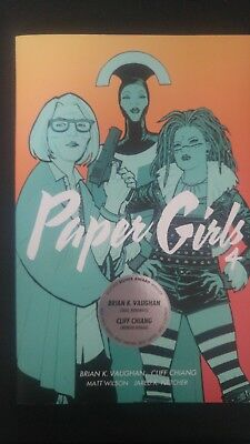 Paper Girls - Volume 4 - Brian K. Vaughan - Cliff Chiang - IMAGE Graphic Novel