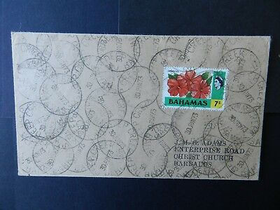 Bahamas Cover 1973 stamp 7c