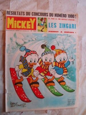 MICKEY no 1023-01/1972--RC DIVERS-PUB DINKY TOYS-VOIR PHOTOS