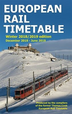European Rail Timetable, Winter 2018/2019