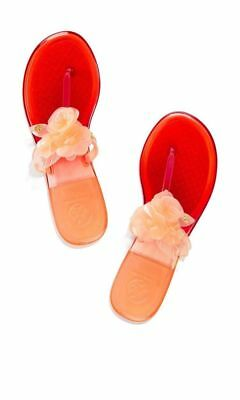 8c598d962243 NIB Tory Burch Blossom Jelly Thong-TPU Sandals