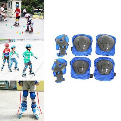Wrist Elbow Knee Protective Pads Skating Protectors Gear Set For Kids Children